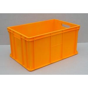 POJEMNIKI PLASTYKOWE 60x40x30 cm żółty ciemny
