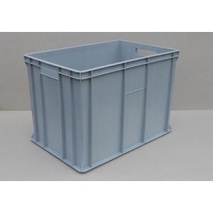 SKRZYNKI PLASTYKOWE 60x40x41 cm kolor szary