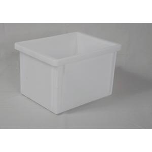 POJEMNIKI PLASTIKOWE 40x30x25 cm kolor biały