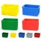 POJEMNIKI PLASTIKOWE 600x400x300 mm żółte