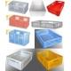 POJEMNIKI PLASTIKOWE 600x400x300 mm niebieskie