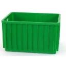 POJEMNIKI PLASTIKOWE 800x600x450 mm zielone
