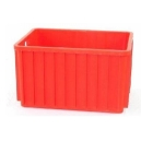POJEMNIK TRANSPORTOWY 800x600x450 mm czerwony