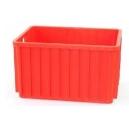 POJEMNIKI PLASTIKOWE 600x400x300 mm czerwone