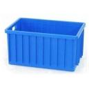 SKRZYNKA PLASTIKOWA 600x400x300 mm niebieska