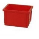 POJEMNIKI MAGAZYNOWE 400x300x250 mm czerwone