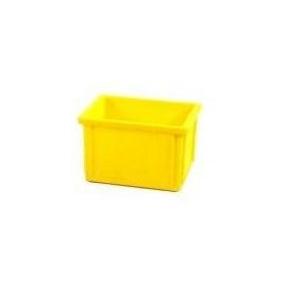 SKRZYNKA MAGAZYNOWA 400x300x250 mm żółta