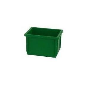 SKRZYNIE MAGAZYNOWE 400x300x250 mm zielone
