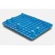 Półpalety plastikowe 800x600x150 mm na stopach