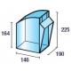 Pojemniki warsztatowe Practibox 600x209x240 mm