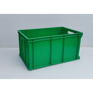 POJEMNIKI PLASTIKOWE 60x40x30 cm zielone