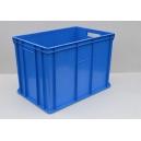 SKRZYNKI PLASTIKOWE 60x40x41 cm niebieskie