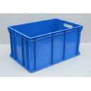 POJEMNIK MAGAZYNOWY 60x40x30 cm niebieski
