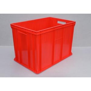 SKRZYNKA MAGAZYNOWA 60x40x41 cm czerwona